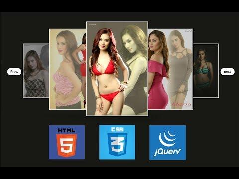 jQuery Custom Image Slider | HTML and CSS thumbnail