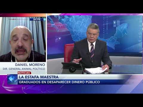 Entrevista con Daniel Moreno director de Animal Político sobre la  Estafa Maestra