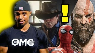 VGA 2018- Red Dead Redemption Robbed? Spider-Man PS4 Leaves EMPTY HANDED?! Video
