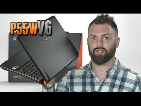 GIGABYTE P55W V6 w/GTX 1060 Review [4K]