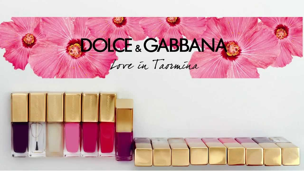 Love in Taormina Dolce&Gabbana Makeup Collection