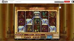Kaiser Slots Casino Gameplay Video | Königliches Online Casino | Book of Dead mit Echtgeld