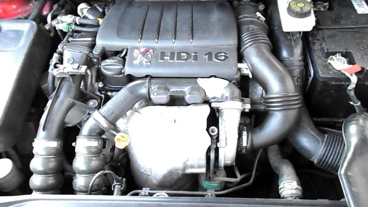 Modish Двигател за Peugeot 307 1.6 HDI, 109 к.с., хечбек, 5 вр., 2006 г VL76