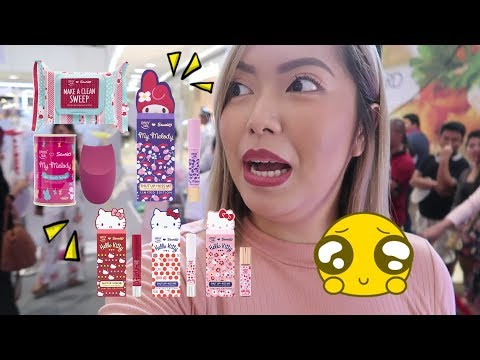 HOW CUTE ARE THESE SANRIO MAKEUP!! (Sept. 13, 2017) - saytioco