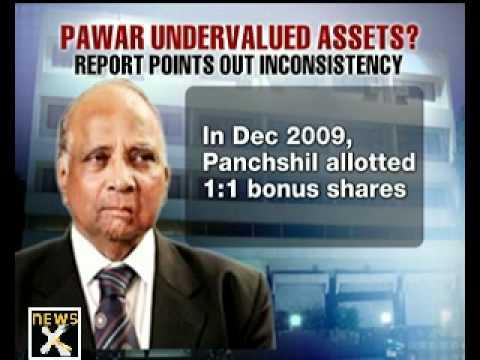 Sharad Pawar's assets undervalued