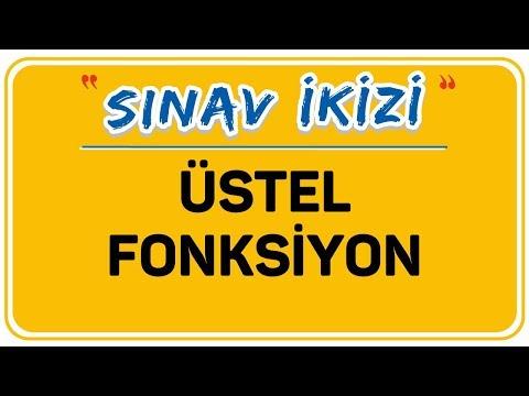 ÜSTEL FONKSİYON | ŞENOL HOCA