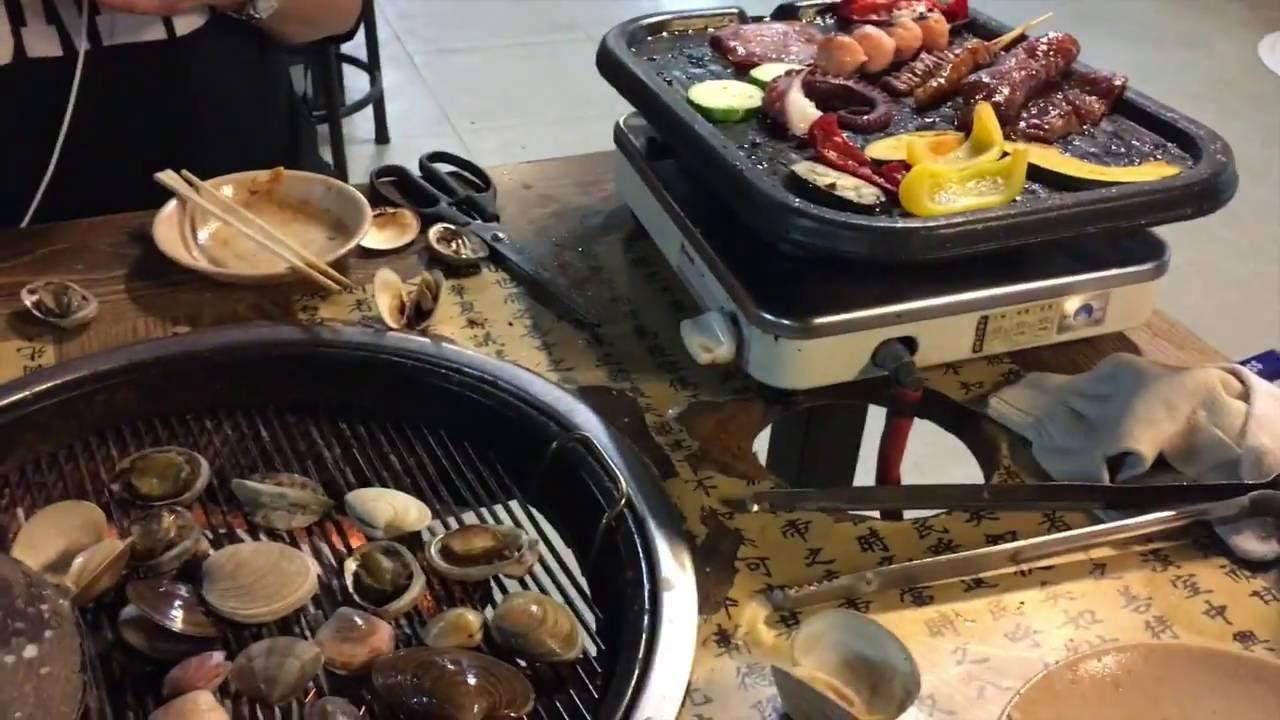♥ jcchung 韓國首爾 貝殼倉庫 任食海鮮烤肉 ♥ - YouTube