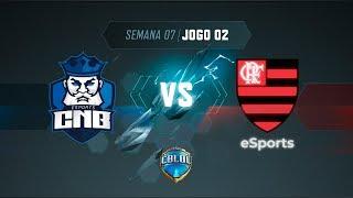 CBLoL 2019: CNB x Flamengo (Jogo 2) | Fase de Pontos - 1ª Etapa