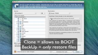 CCC (Carbon Copy Cloner): How To Clone & Bakcup Mavericks (OSX)