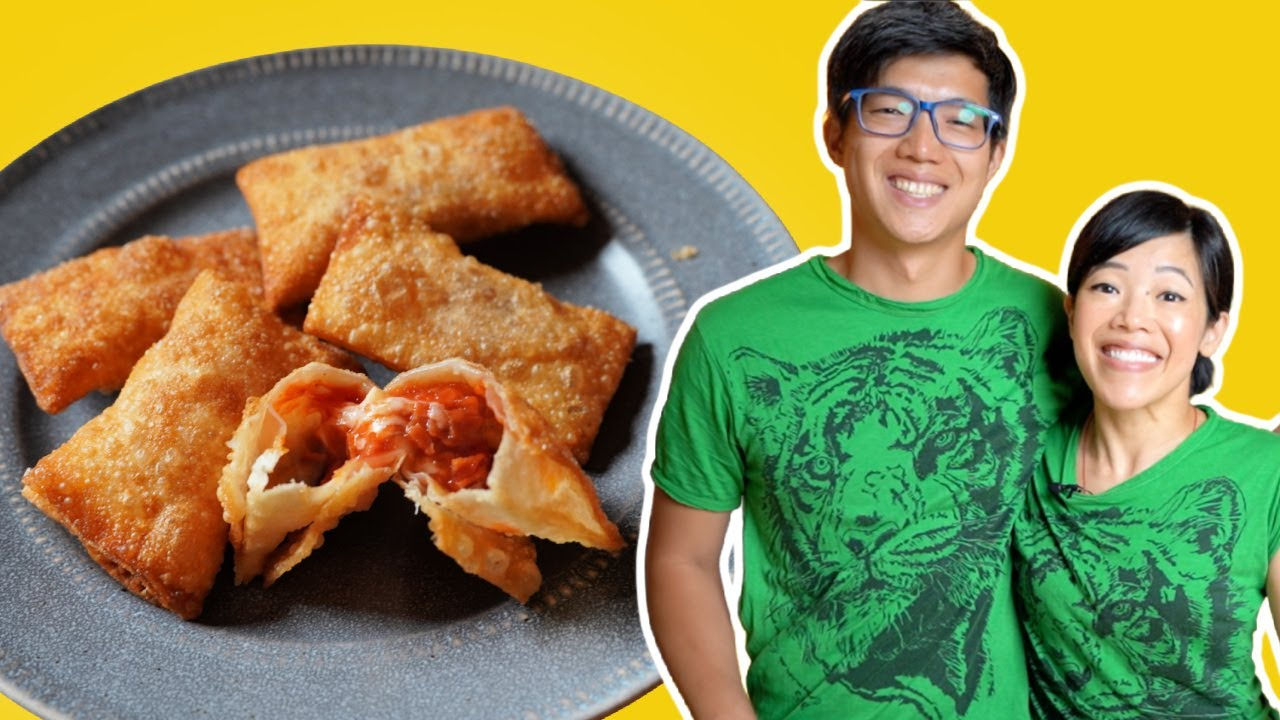 Cooking With My Brother | DIY Totino's Pizza Rolls - our childhood favorite