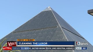 Why is the Luxor dirty?