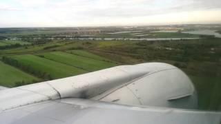 Посадка в аэропорту Жуковский / Zhukovsky Airport Landing (Belavia B2 971 MSQ-ZIA)