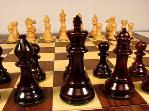 Chevalier Series Wood Chess Pieces
