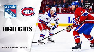 NHL Highlights | Rangers @ Canadiens 2/27/20