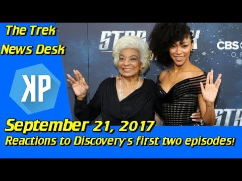 Reactions to Discovery's First Two Episodes - Star Trek: Discovery Hollywood Premiere!