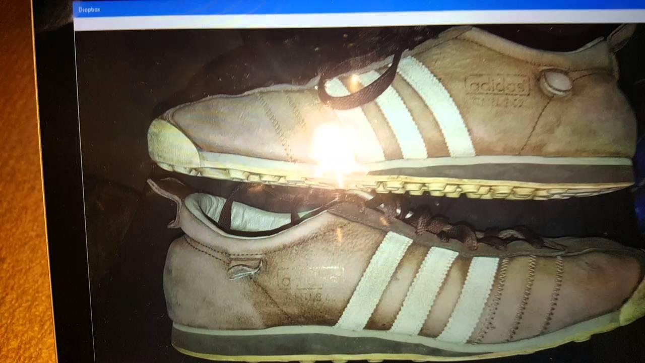 Adidas Chile '62s refurb in progress @PerchOriginals YouTube