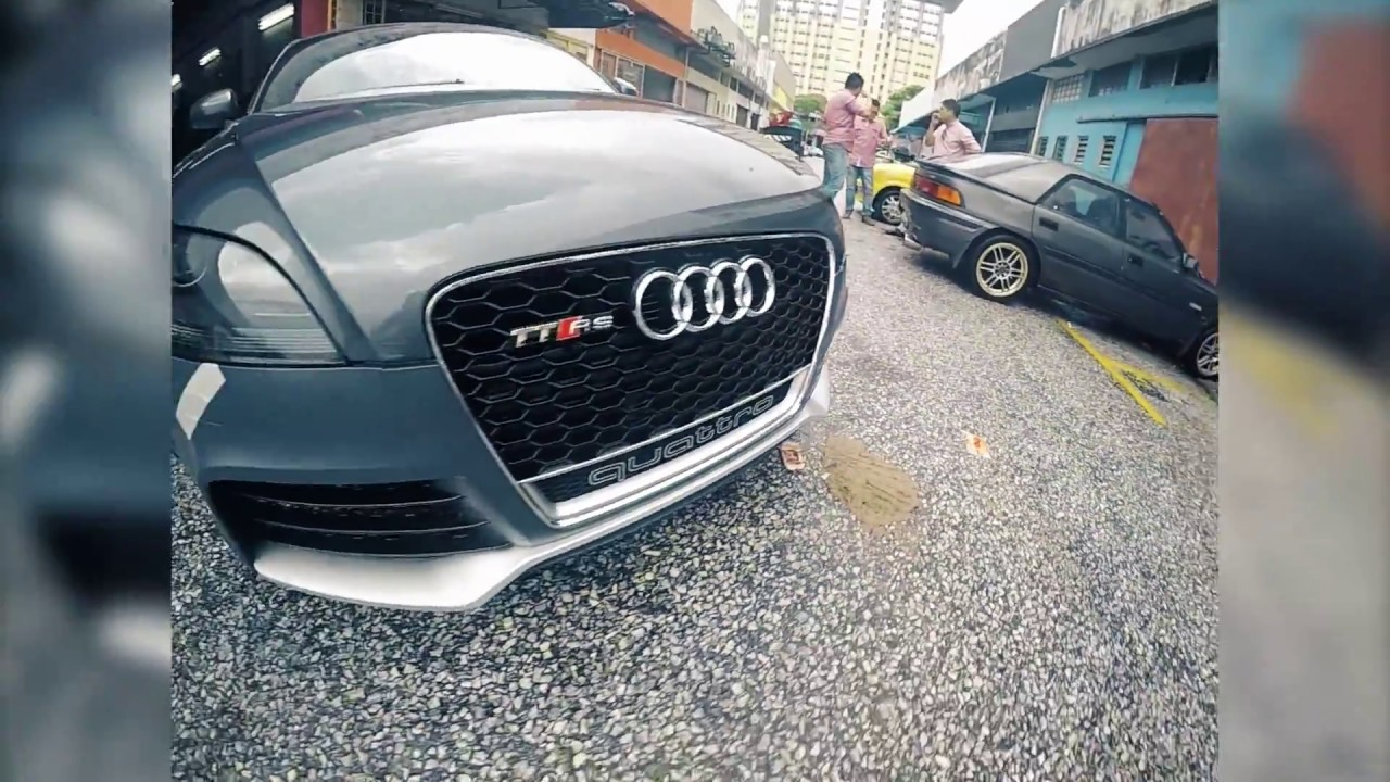 hight resolution of audi tt convert audi ttrs bodykit