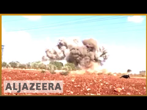 🇷🇺 🇸🇾 Russia-backed Syria regime pummels Idlib | Al Jazeera English