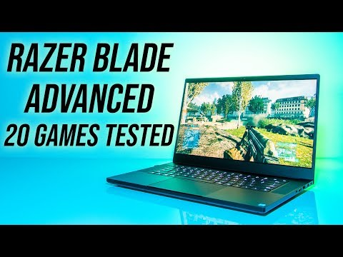 Razer Blade 15 Advanced Gaming Benchmarks - 20 Games Tested!