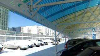 навесы из поликарбоната и Ондекса(, 2011-02-18T20:07:44.000Z)