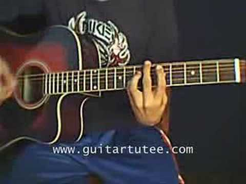 The Middle Of Jimmy Eat World By Guitartutee Youtube