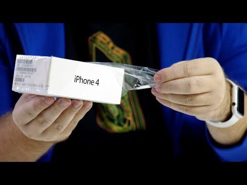 Распаковка iPhone 4