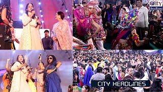 Actress Deepika Singh at Lotus Navratri Utsav 2019 Narendra Mehta Suman Mehta