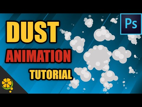 2D Game VFX Tutorial - Easy Dust Explosion In Photoshop