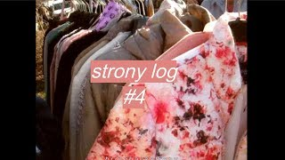 going to a flea market & the woods // strony log #4