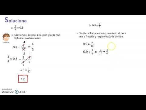 Clase Online N° 12 : Operatoria con Decimales: Adición, sustracción y multiplicación. 8°B from YouTube · Duration:  44 minutes 20 seconds