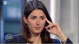 Virginia Raggi a Porta a Porta (INTEGRALE) 9/5/2017