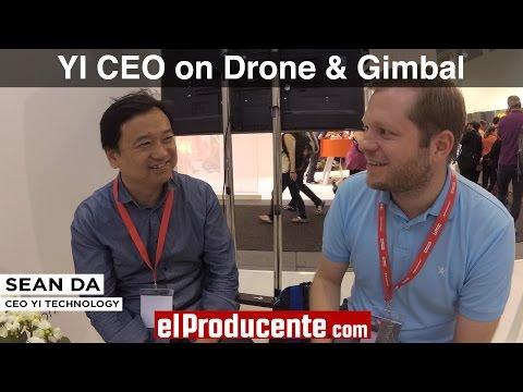 YI CEO on YI Erida Drone & YI Handheld Gimbal