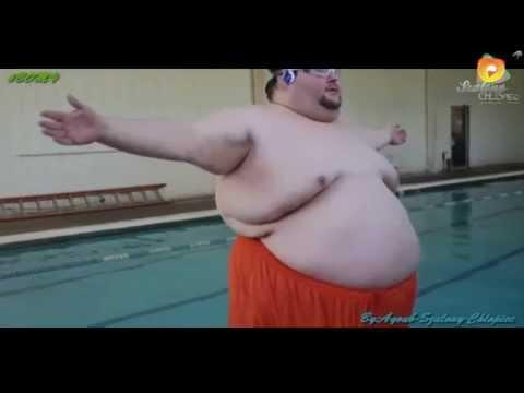 Funny Fat Men With Tsunami Music [tsunami dvbbs & borgeous]
