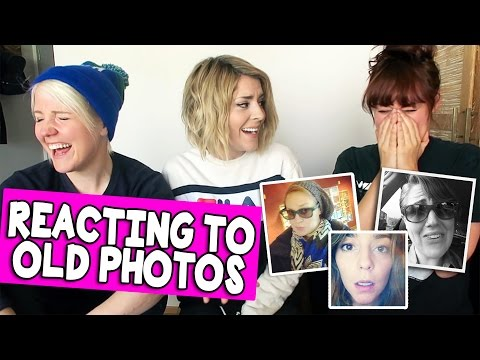 Download Youtube: REACTING TO OLD PHOTOS (w/ HANNAH & MAMRIE) // Grace Helbig