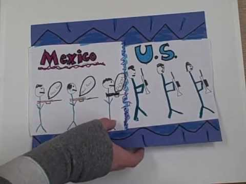 The Mexican American War Common Craft Video --7th Hour -- Mr. Huggins