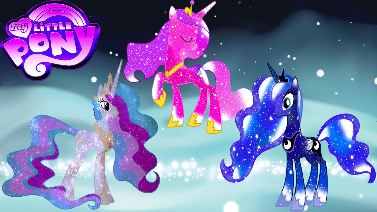My Little Pony Transforms into