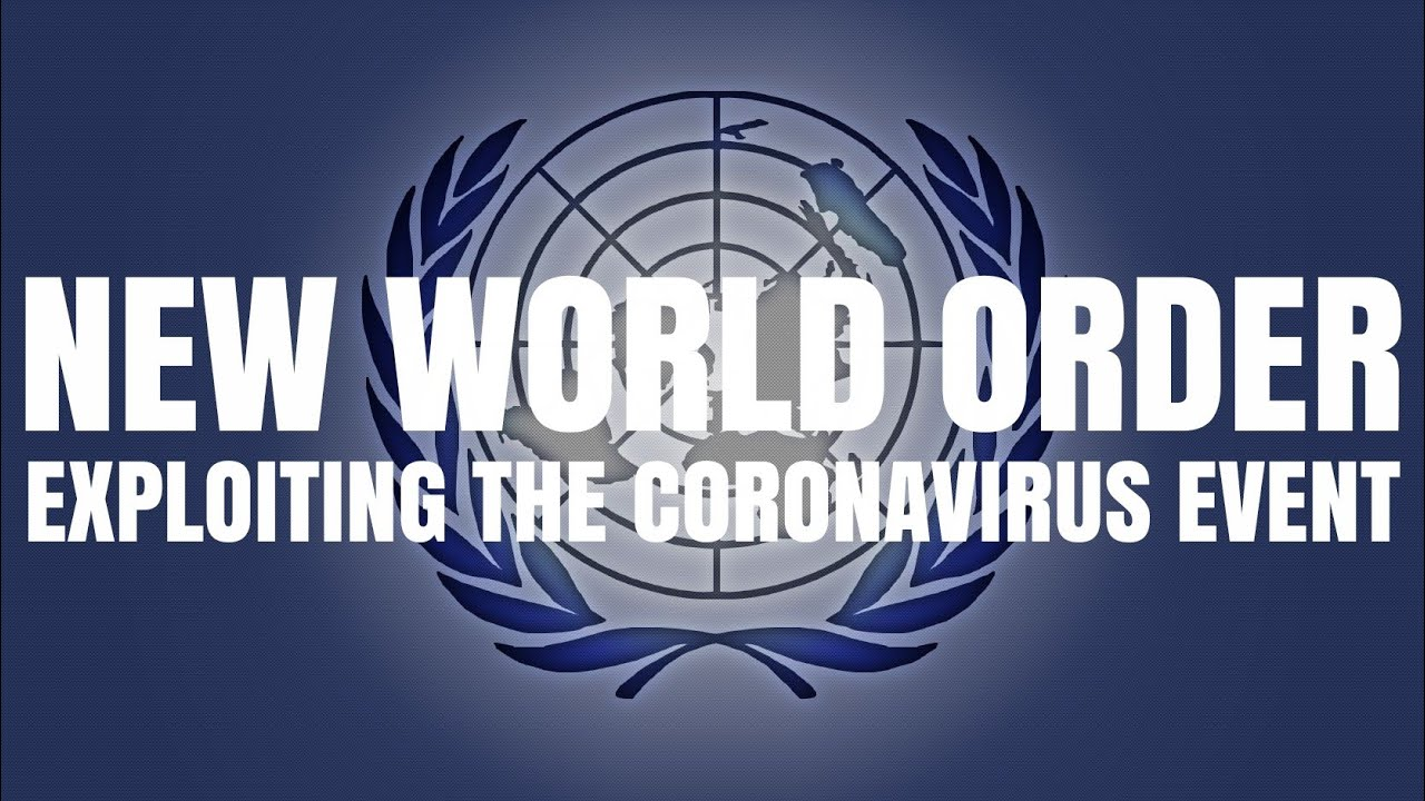 N.W.0 EXPLOITING THE CORONAVIRUS EVENT - SHAYKH ASRAR RASHID
