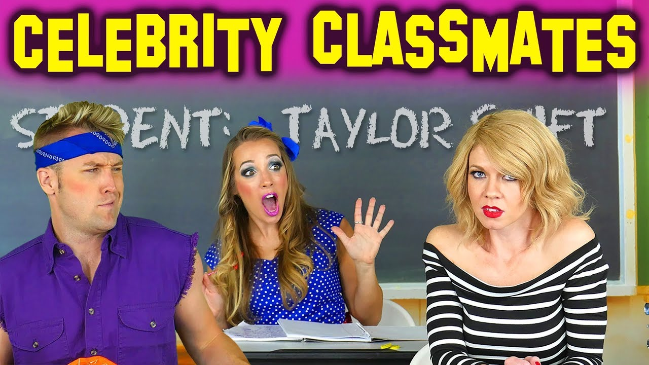 Taylor Swift Goes To School? Celebrity Classmates from Totally TV