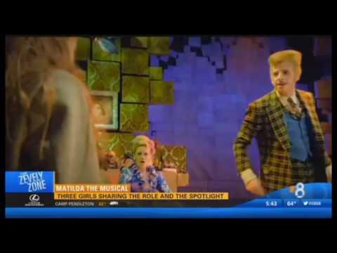 Matilda the Musical on CBS 8 San Diego