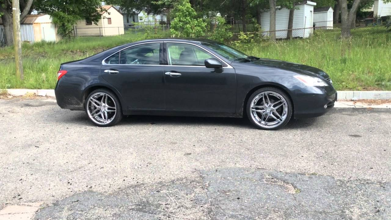 "Lexus Es 350 Lease >> 2007 Lexus ES350 Sitting On 20"" Rosso Reactive wheels. @Rimtyme Hampton 3233 West Mercury Blvd ..."