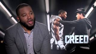 Ryan Coogler Interview: Pitching CREED to Sylvester Stallone & Inspiration for the Film