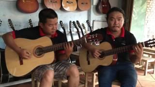 mái trường mến yêu - Guitar hòa tấu - test guitar 850k - 0906391557