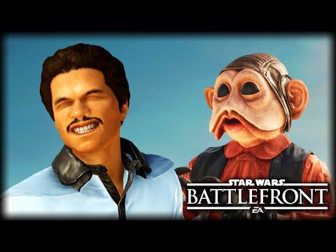 When Lando Meets Nien Nunb : STAR WARS Battlefront Machinima
