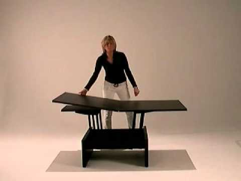 Kubo   Coffee Table Convert In Dining Table Smart Furniture