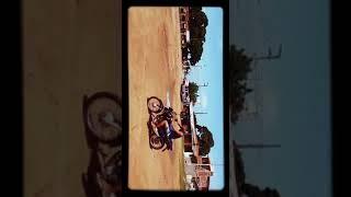 Primeiro contato com a moto Aprendendo andar de moto