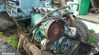 Двигатель от трактора Т-40 на Газ 3307!