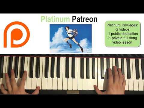 The Girl Who Leapt Through Time - Kawara Nai Mono (Piano Cover)   Patreon Dedication #79