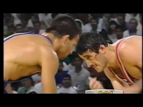 Олимпийские игры 1992 Барселона (68 кг финал) Арсен Фадзаев СНГ Vs Гецов Болгария