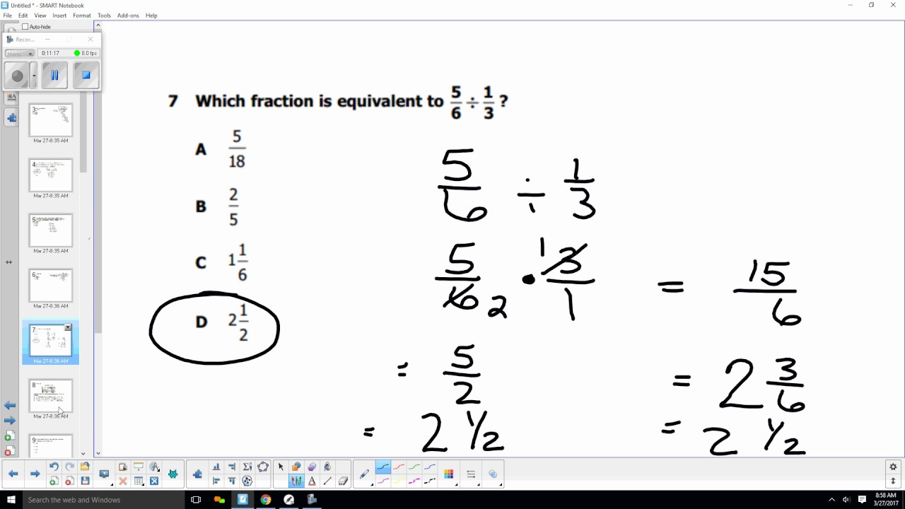6th grade math sol 2010 test review 1-25 - YouTube