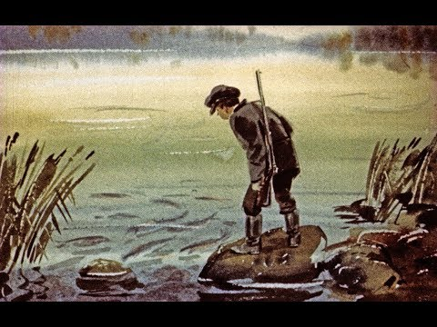 Мультфильм васюткино озеро астафьев